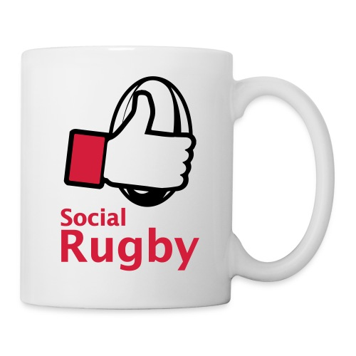 social rugby - Mug blanc