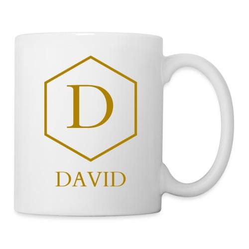 Mug David - Mug blanc