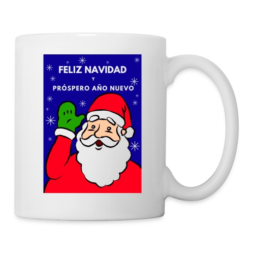 Taza navideña Santa Claus, Feliz NaNavidad - Taza