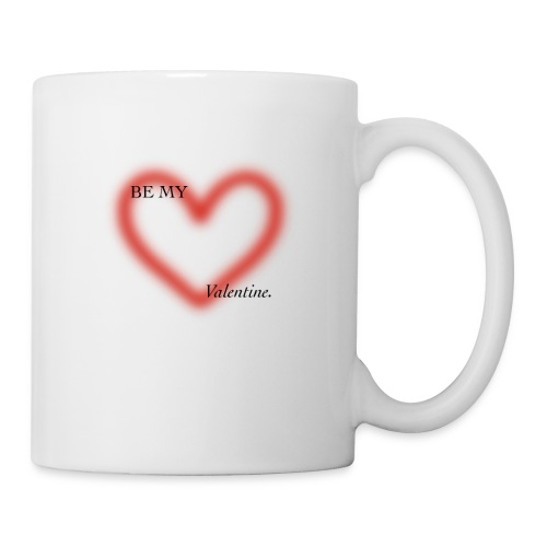 BE MY VALENTINE - Taza