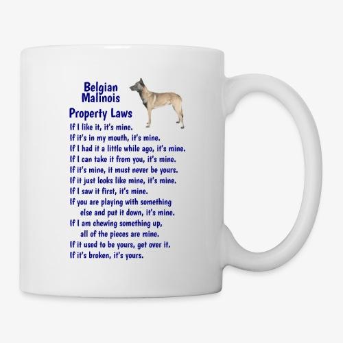 Belgian Malinois property laws - Mug
