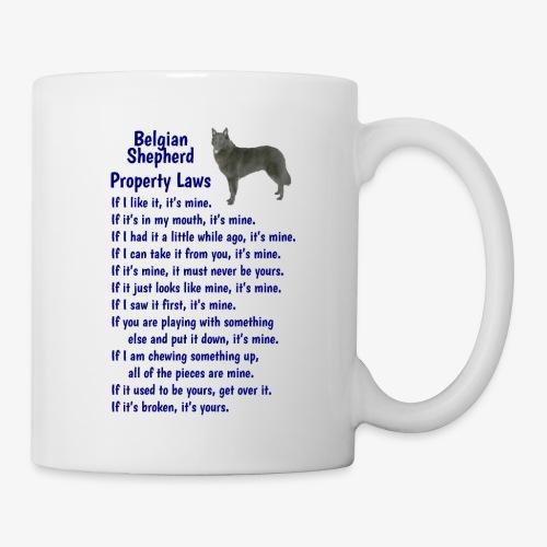 Belgian Shepherd Property laws - Mug