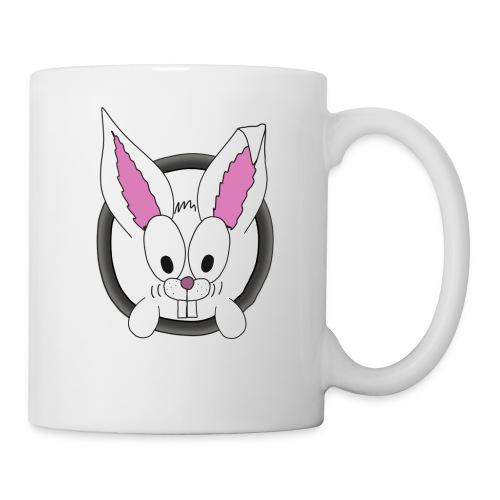 Das freundliche Kannchen nebenan white rabbit - Tasse