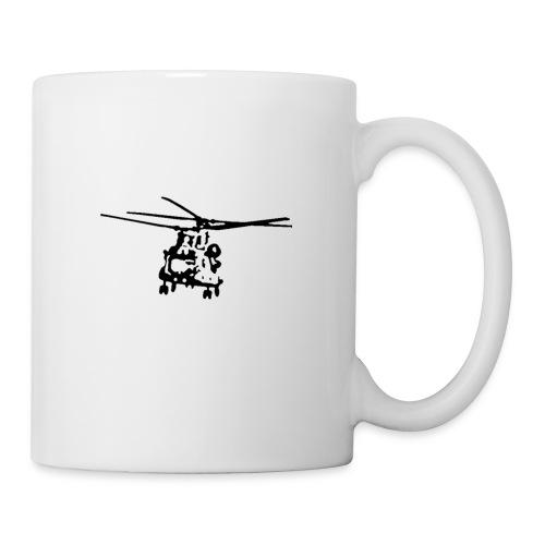 CH 47 Chinook white - Mug