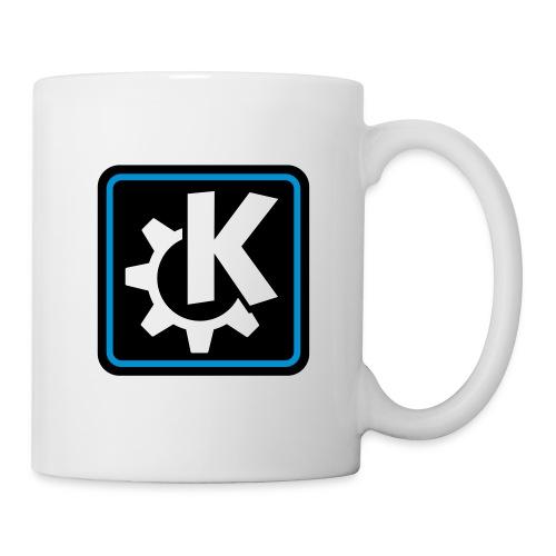 k logo bluish - Mug