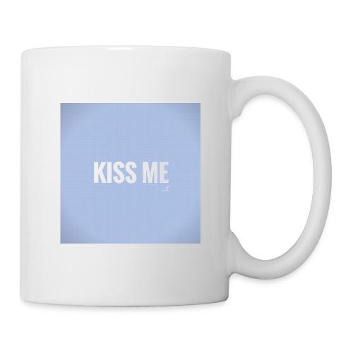 KISS ME - Mug blanc