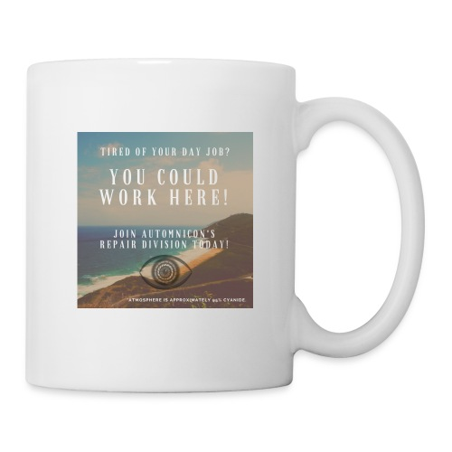 Automnicon. Are you tired of your day job? - Mug
