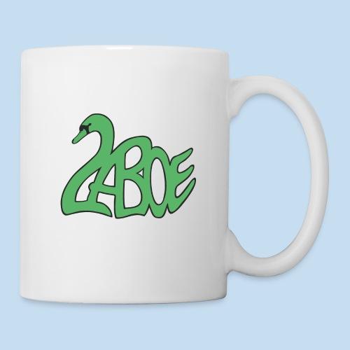 Laboe Schwan grün - Tasse