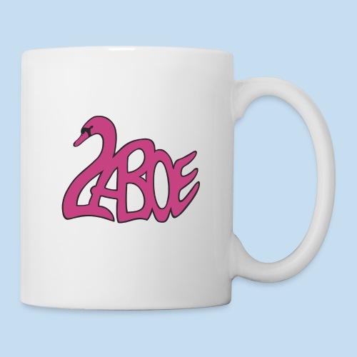 Laboe Schwan pink - Tasse