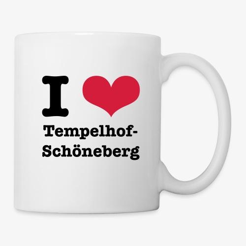 I love Tempelhof-Schöneberg - Tasse