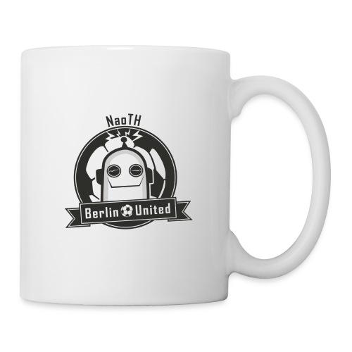 Berlin United - Happy Robot black with border - Tasse