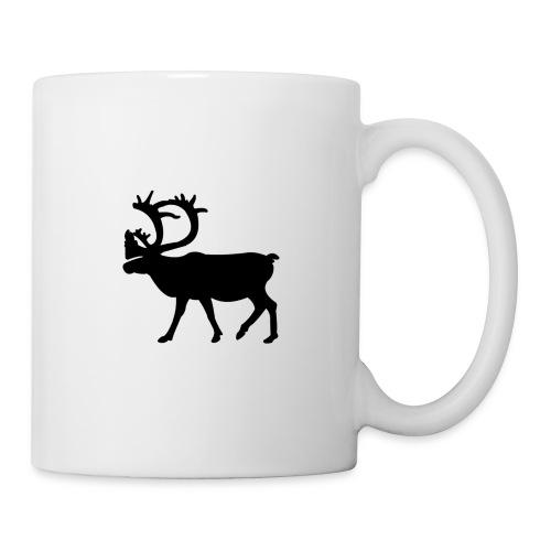 Le Caribou - Mug blanc