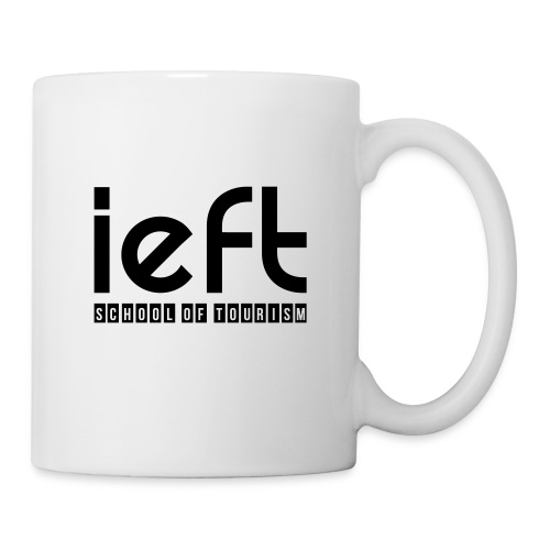LOGO IEFT Noir - Mug blanc