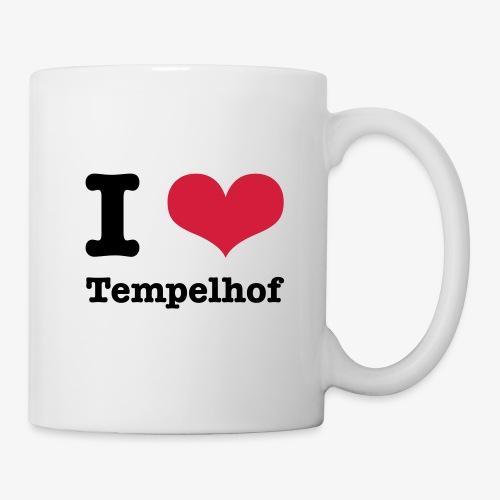 I love Tempelhof - Tasse