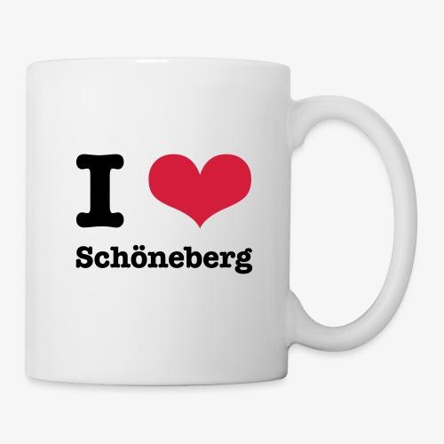 I love Schöneberg - Tasse