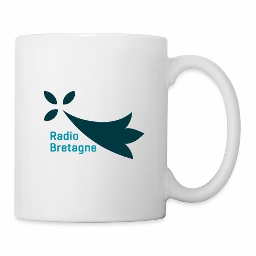 Logo Radio Bretagne - Mug blanc