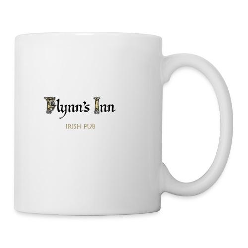flynns logo colour - Tasse