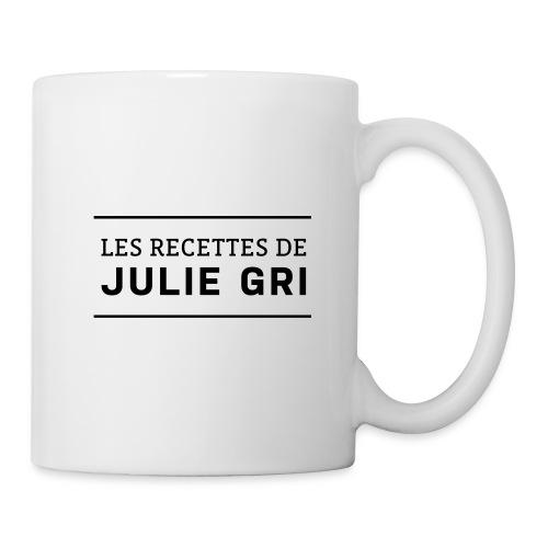 Les recettes de Julie Gri - Mug blanc