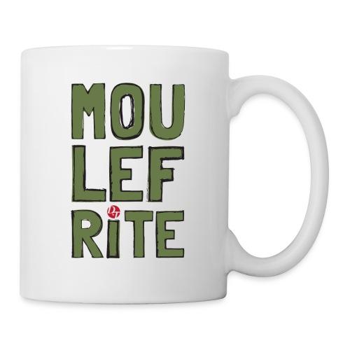 dt moulefrite folk sketchsolid towertee - Mug blanc