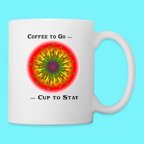Coffee to go ... cup to stay - Mug