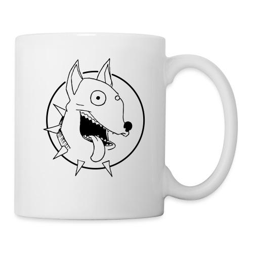 chien fou - Mug blanc
