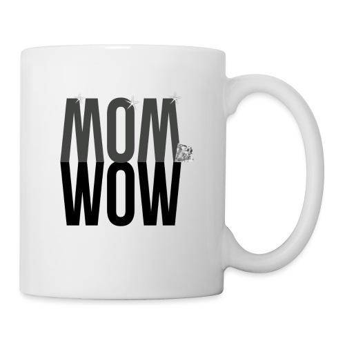 MOM WOW dunkel - Tasse