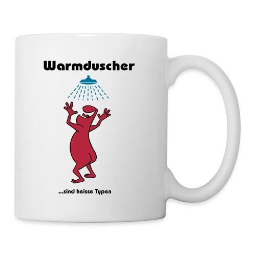 Warmduscher grün - Mug