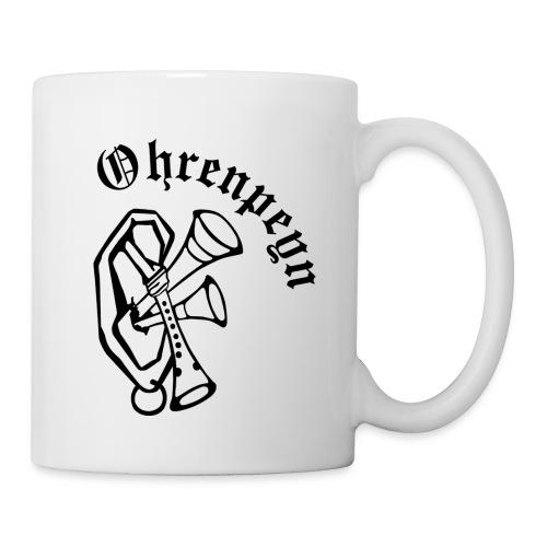 logo ohrenpeyn schriftzug 1 - Tasse