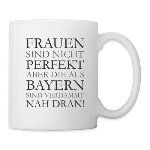 Frauen aus Bayern T-Shirt (Damen/Grau) - Tasse