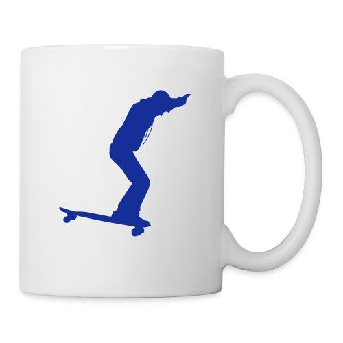 Longboarder Skate in Action - Tasse
