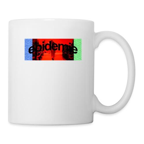 epidemie box logo - Mug blanc