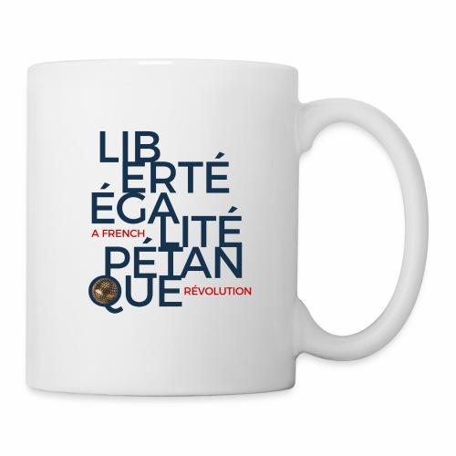 LIBERTE EGALITE PETANQUE - uni - Mug blanc
