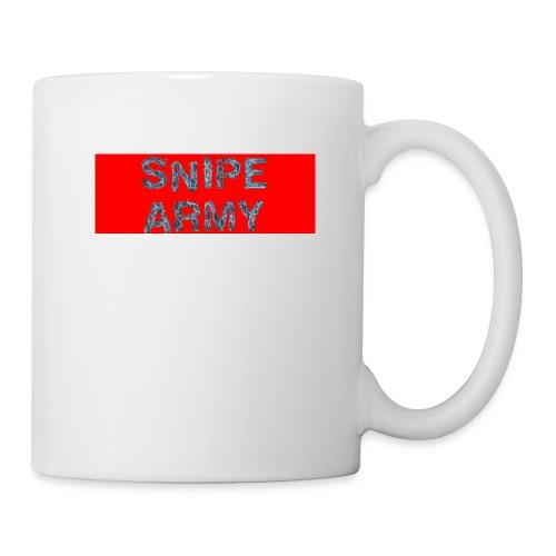 Snipe Army Box Logo - Tasse