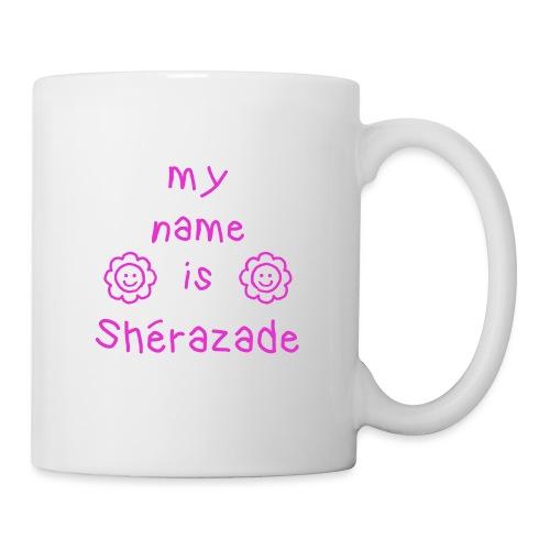 SHERAZADE MY NAME IS - Mug blanc