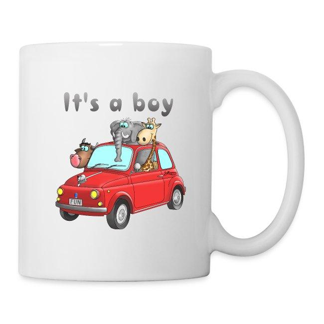 It's a boy - Baby - Cartoon - lustig