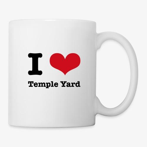 I love Temple Yard - Tasse