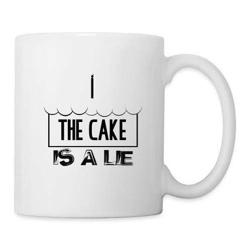 Der Kuchen ist eine Lüge - Tasse