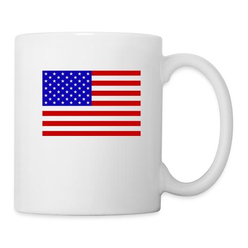 USA Flagge groß - Tasse