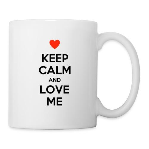 Keep calm and love me - Tazza
