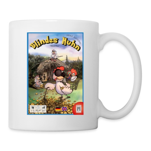 Blindes Huhn Cover - Tasse
