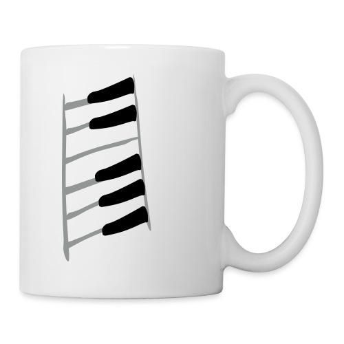 Klavierretter-Tasten - Tasse