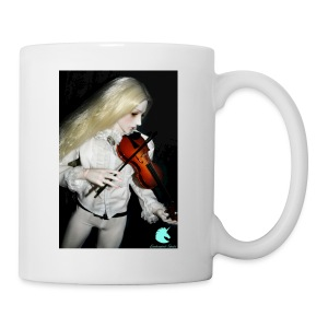 Vampire Violin Gothic Music Fantasy Enchanted - Mug