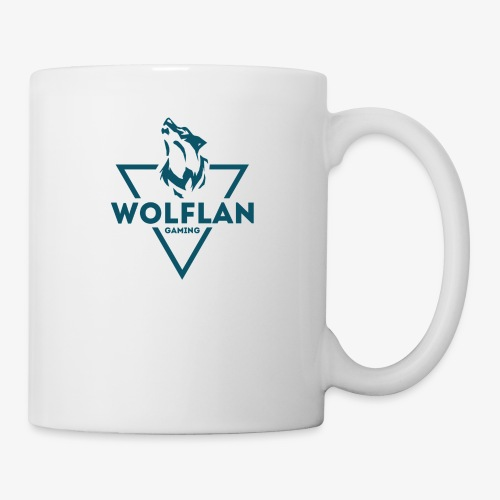 WolfLAN Logo Gray/Blue - Mug
