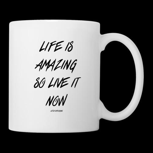 Life is amazing Samsung Case - Mug