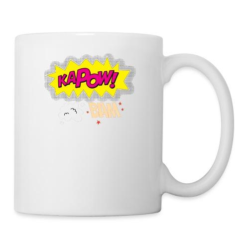 kaboum bam - Mug blanc