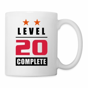 Level 20 - Complete - with stars - Kubek