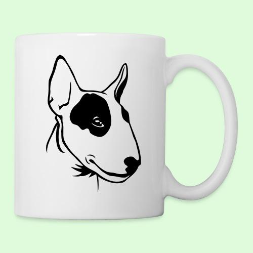 Bull Terrier - Mug blanc