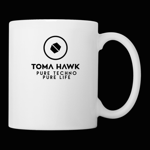 Toma Hawk - Pure Techno - Pure Life Black - Tasse