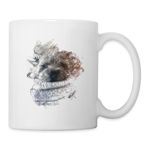 chien - Mug blanc