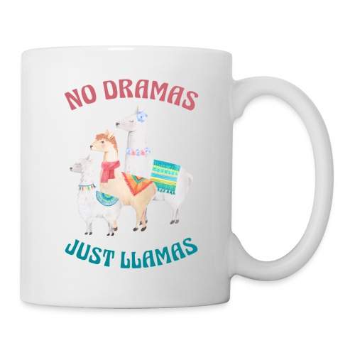 No Dramas Just Llamas - Mug